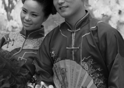 Models in Traditional Clothing